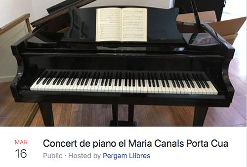 WPTA Catalonia - Concert de piano