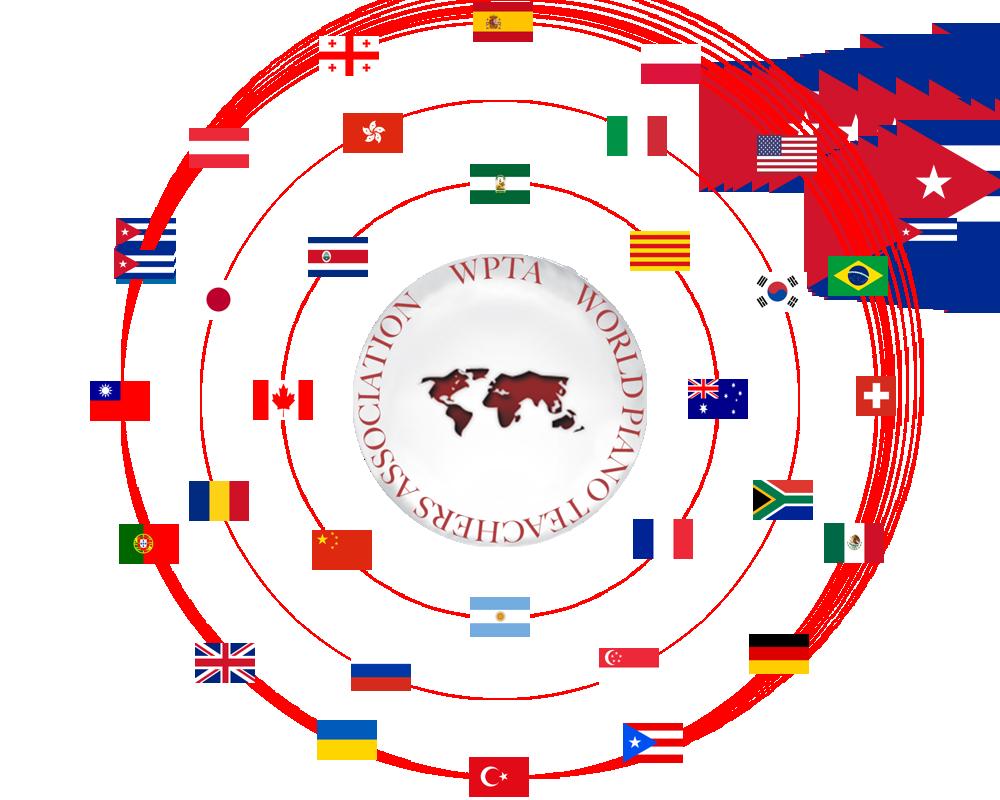 WPTA Logo with flags