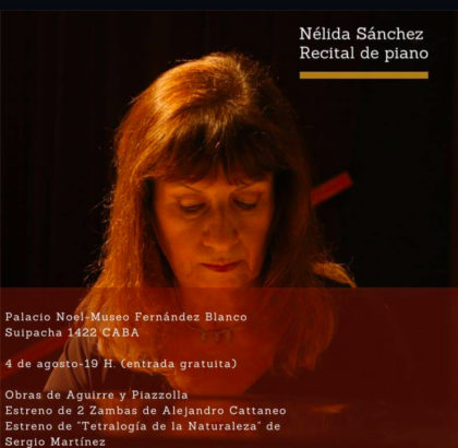 Nelida_Sanchez - Piano recital