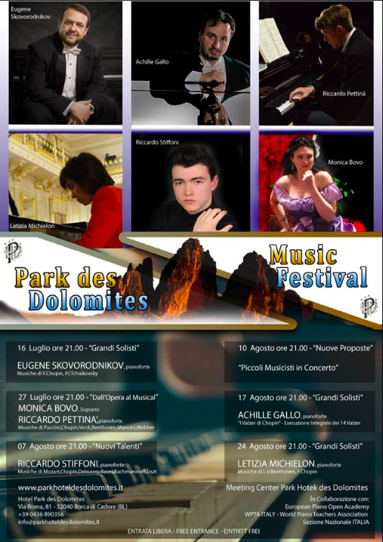 Park des Dolomites Music festival - WPTA Italy
