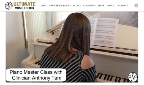 Anthony Tam - Piano Master Class
