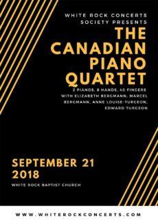 WPTA Canada - Pianists of the Canadian Piano Quartet
