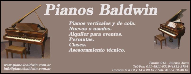 Pianos Baldwin - Logos