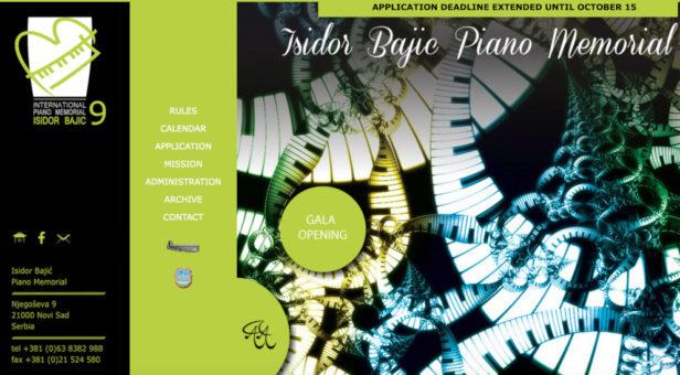 Memorijal Isidor Bajić - Apply