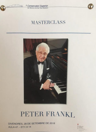 WPTA Alma Concerts - Master class with P. Frankl