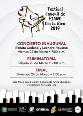 Festival juvenil de Piano - Costa Rica 2019