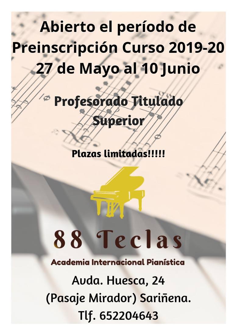 Academia Internacional Pianística - 88 Teclas