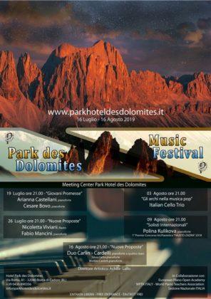 Park Des Dolomites Music Festival