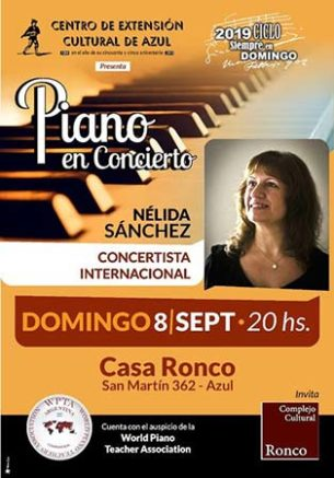 Nelida Sanchez - Recital
