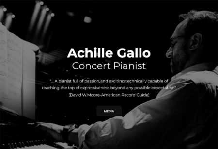 Achille Gallo - New website