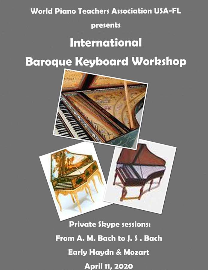 WPTA USA-Florida International Baroque Keyboard Workshop