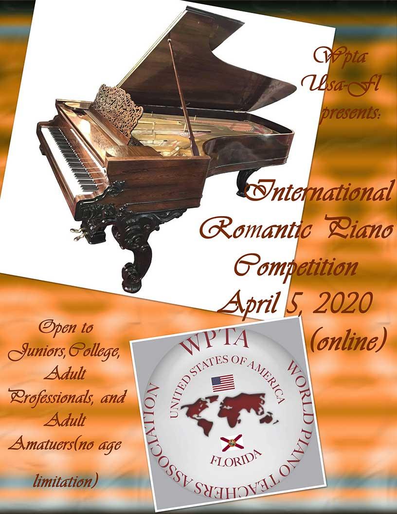 Romantic Piano Music Competition