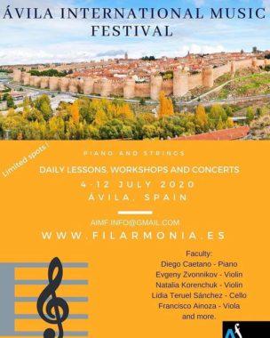 Avila International Music festival