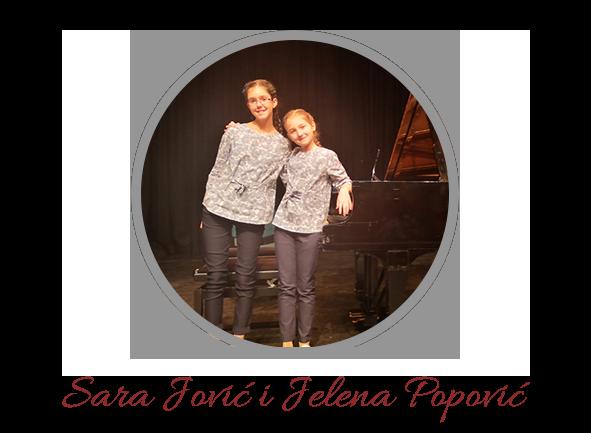 Sara Jović i Jelena Popović